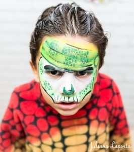 Pintura Facial que as crianças amaram!