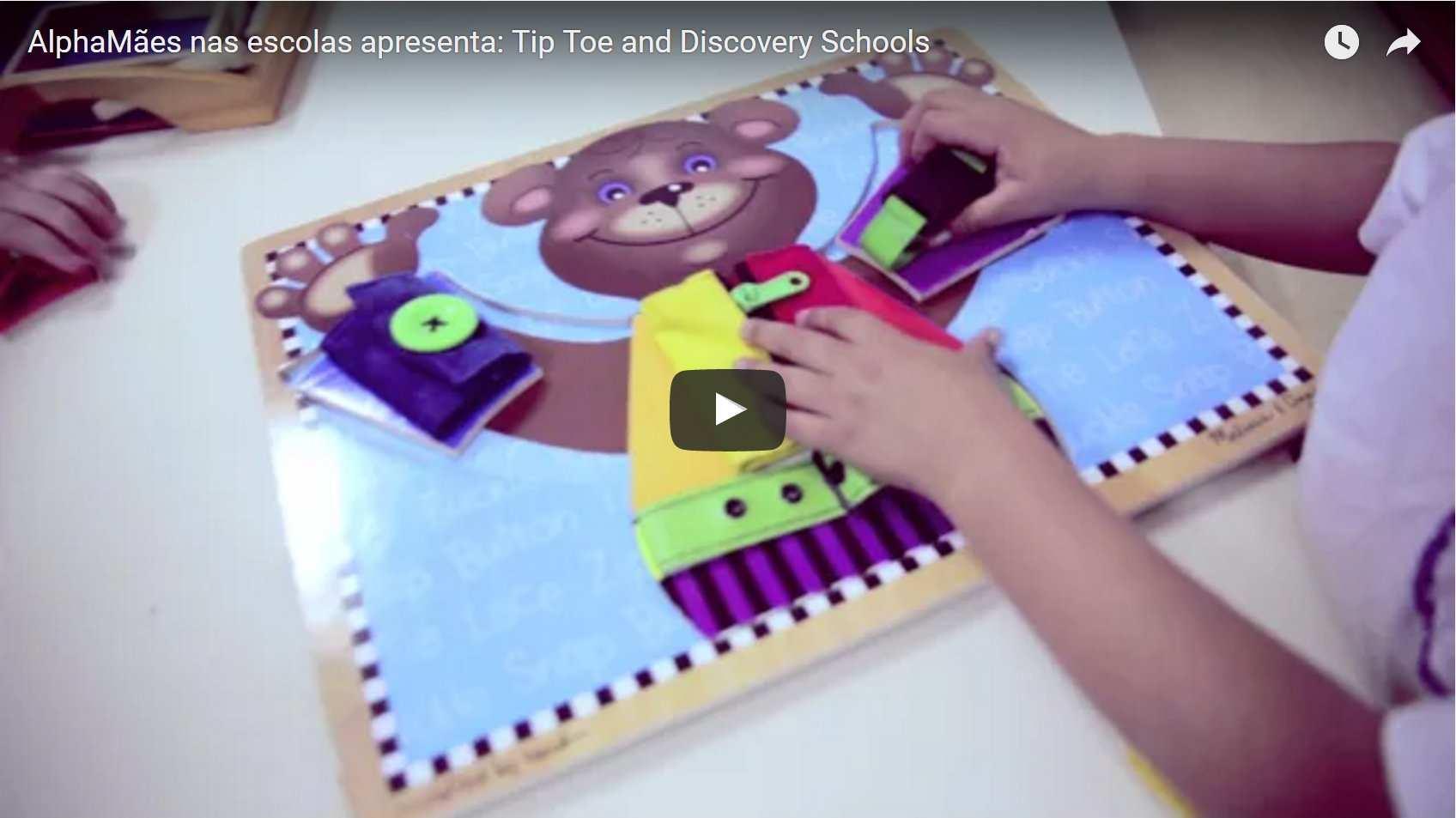 Tip Toe and Discovery Schools – uma escola americana bem pertinho de você