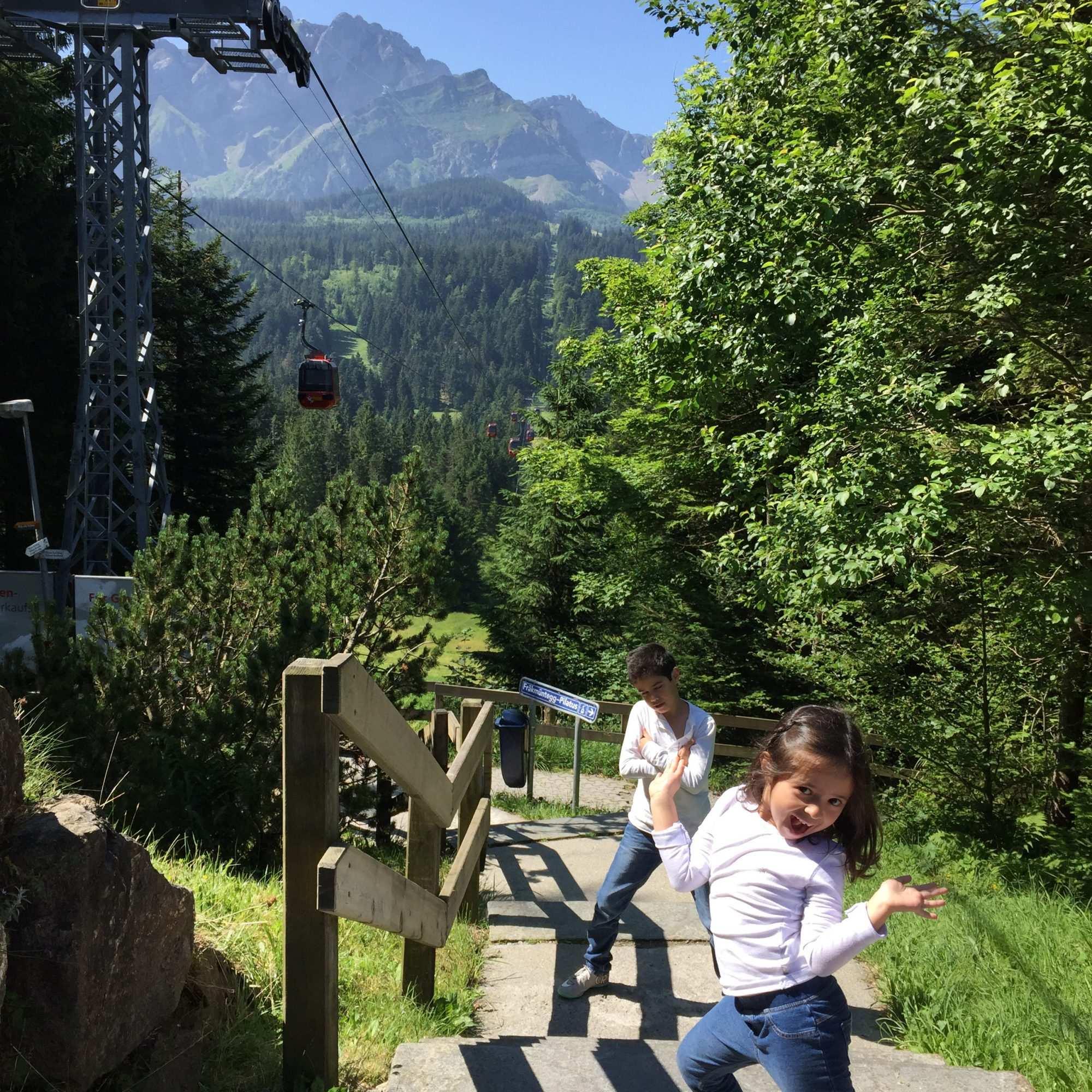 A doce e linda Suíça
