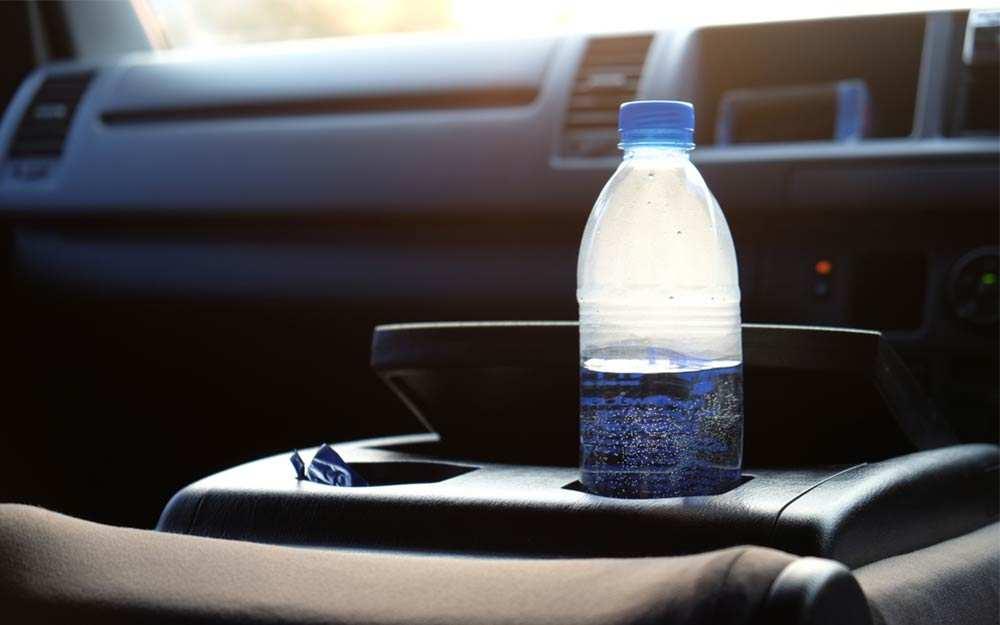 Água no carro, deve ser consumida?