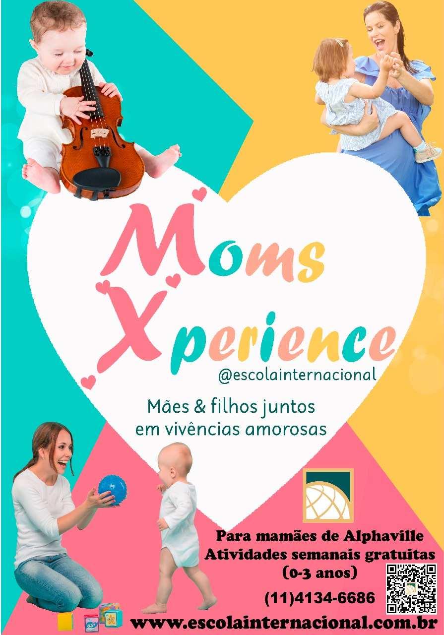 """""""Moms Xperience"""" Escola Internacional de Alphaville"""