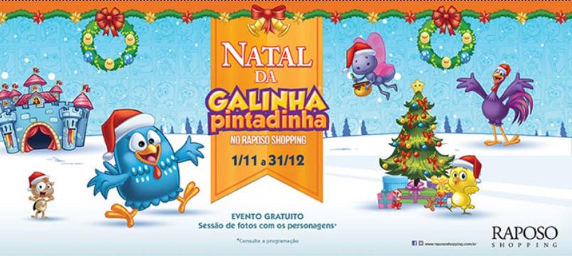 Natal da Galinha Pintadinha – Shopping Raposo